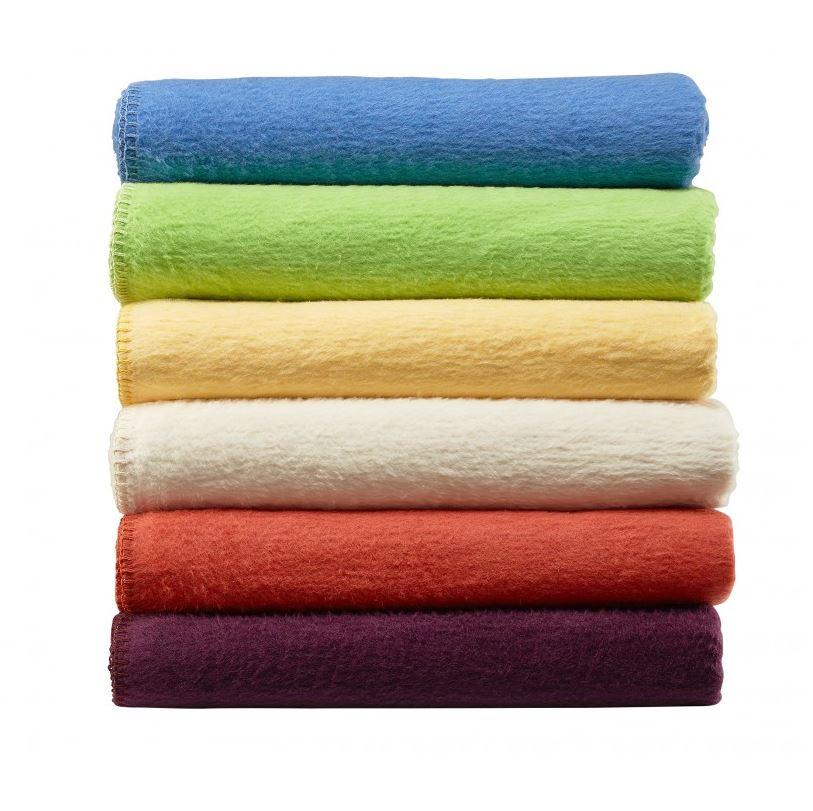 Flauschige Baumwolldecke alle Farben